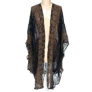 * N.W.O.T. Ecote Boho Kimono *